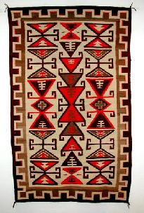 Native American Trading Company Navajo Crystal Rug, Blankets, and Tapestries to choose from.