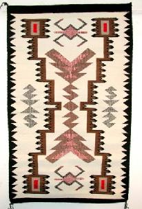 Native American Trading Company Navajo Raised Storm Pattern Rug, Blankets and Tapestries to choose from.