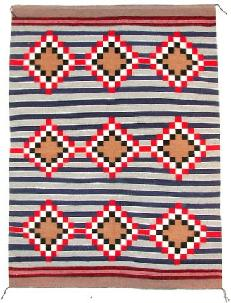 Native American Trading Company Navajo 3d Phase Varient Chief Blanket, Rugs and Tapestries to choose from.